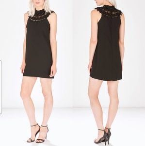 PARKER BEADED COLLAR DRESS